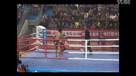 浙江坤泰国际搏击俱乐部秀山散打王龚远昆KO对手