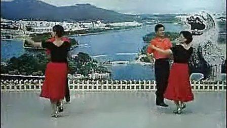 12《南京小拉舞》教学(十二)半转