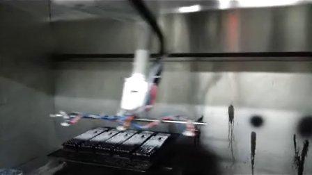 SRL机器人+三工位转台喷涂 (2)