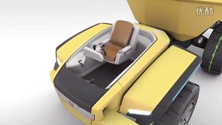 沃尔沃的未来概念自卸车