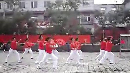 精忠报国 广场舞