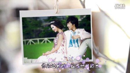 我们结婚吧 情人节MV 七夕高清婚礼开场视频3D电子相册制作请柬感恩成长MV片头韩式服务创意我们