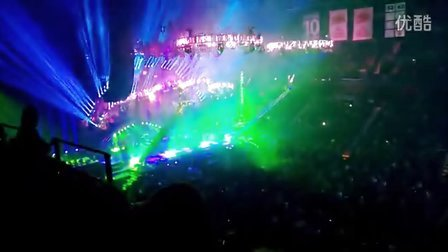 Trans-Siberian Orchestra Finale 2012 at Mohegan Sun (High)