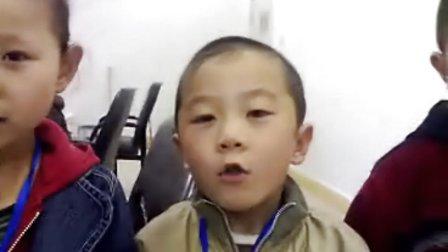 20090911    蒙古族孩子欢迎2008奥运会