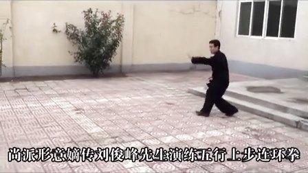 形意拳- 尚派形意拳-五行上步连环拳-刘俊峰先生