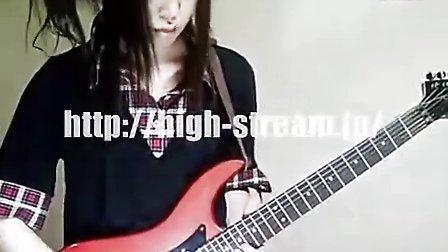 美女电吉他