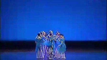 陕西西安年会舞蹈编排演出 中国古典舞 群舞 春吟视频 舞蹈曹老师