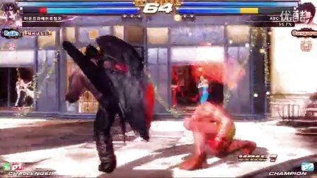 铁拳TT2 Gura vs ABC