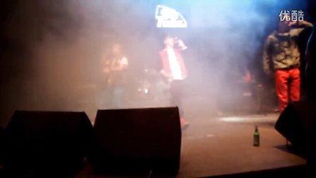2012第二届安达音乐节 MNT组合新歌《为梦想》抢拍