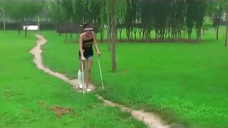 girl sprain