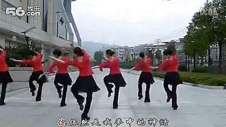 广场舞-小小新娘花(背面)