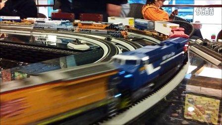 上局沪段火车模型乐园QQ群12月1日运转会剪影