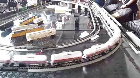 ND5-2双机重联牵引混编货列