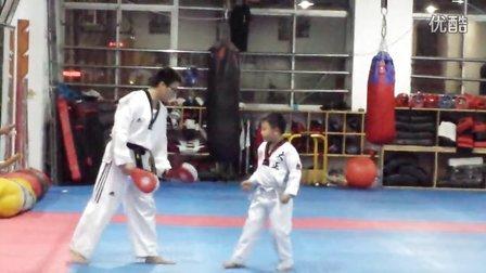 20140209跆拳道训练