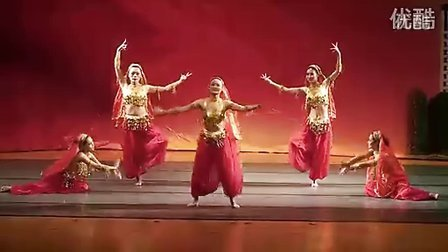 西安单位年会元旦圣诞晚会民族民间舞印度舞-天竺少女 舞蹈曹老师