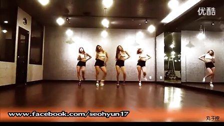 1人简单现代舞舞蹈分解动作教学视频Girl_'s Day - 期待丸子控