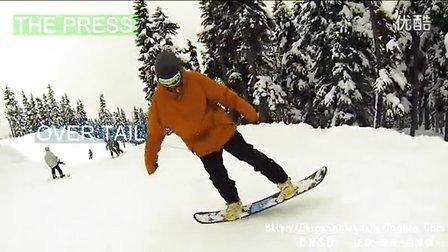 【CNSB】2013单板滑雪教学之平花粘跳How to Butter_高清