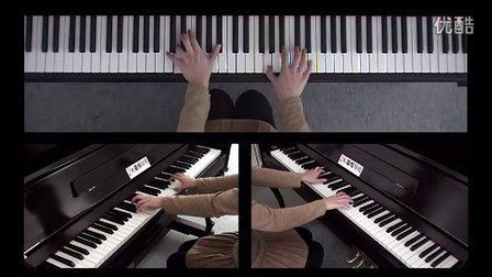 慢速陪练方案-陪练视频:克莱德曼演奏的钢琴轻音乐曲选 梦中的婚礼