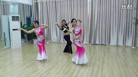 西安公司元旦晚会年会 民族舞女子舞蹈傣族舞《月亮》 舞蹈曹老师