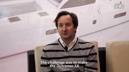 NauticExpo- Outremer 5X at Nautic Paris 2012