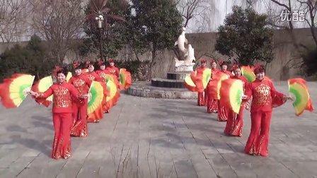 婆娑村《鱼与水》广场舞---越来越好