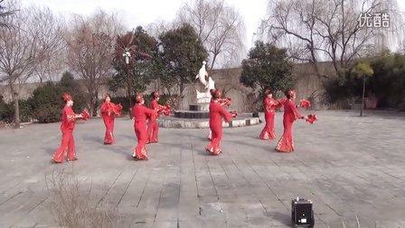 婆娑村《鱼与水》舞蹈队广场舞