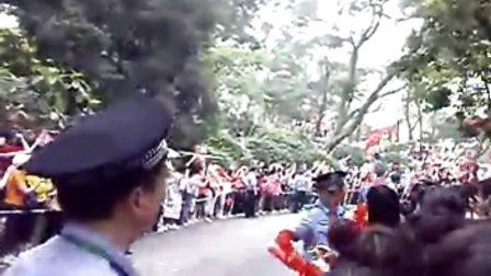奥运火炬传递 广州白云山