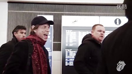The Rolling Stones arrive in Japan!