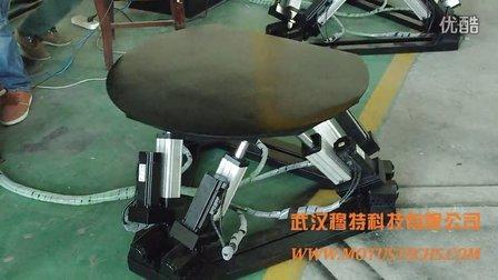 武汉穆特科技 小型六自由度平台演示