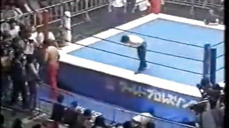 1993.06.15 新日本摔角 愚零鬥武多 vs 花面大帝(IWGP)