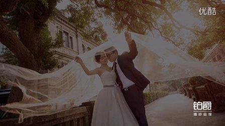 小胖和虾米的婚纱照