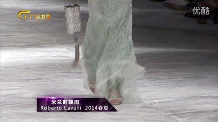 广西卫视《时尚中国》米兰时装周ROBERTO Cavalli 2014春夏