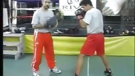 精悍拳击教学组合拳