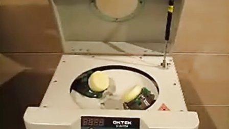 锡膏搅拌机操作演示