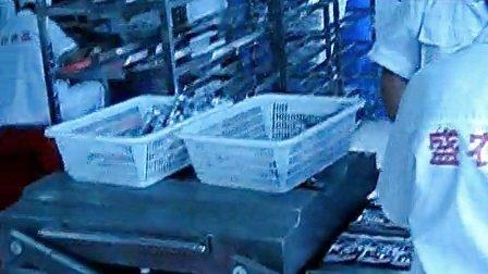 康贝特食品包装机械的包装机:600四条封现场使用