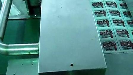 康贝特食品包装机械的包装机:湖北宜昌豆制品现场使用