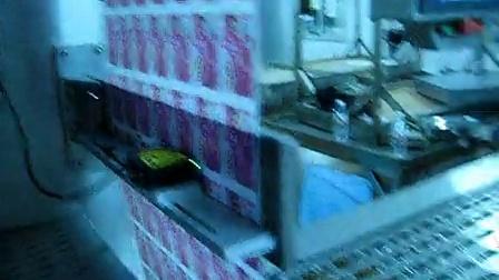 康贝特食品包装机械的包装机:渔米之湘现场使用
