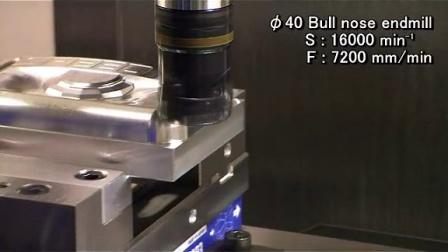 日本兄弟数控钻攻中心机床 S500X1    27,000rpm高速加工视频