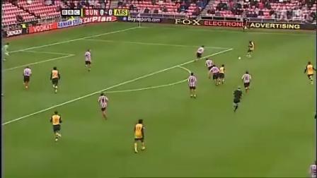 08-09赛季英超联赛第7轮阿森纳1:1桑德兰