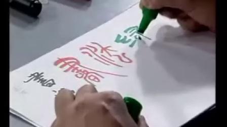 庞中华硬笔书法1