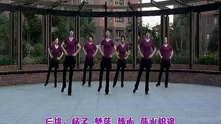 北京加州广场舞 傻傻的爱傻傻等待