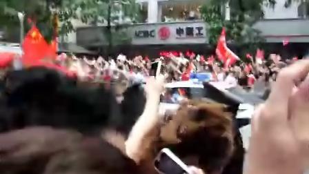中山五路 奥运圣火传递