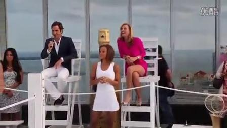 费德勒2014迈阿密Moët Chandon酩悦香槟活动