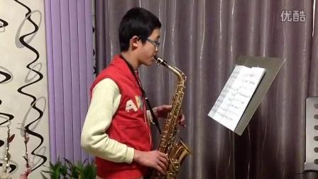 学生展示:萨克斯《拉提那地幻想曲》