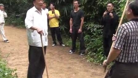 马德老师2013年6月于南宁进行武术交流活动片段(西北疯魔棍法)