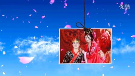 I LOVE YOU高清婚礼开场视频3D电子相册制作片头韩式服务创意