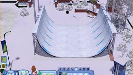 模拟人生3 滑雪的养女 2
