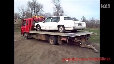 运输汽车要小心!最搞笑运输过程中的事故集锦