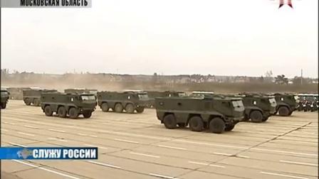 2014胜利节莫斯科阅兵彩排(2)