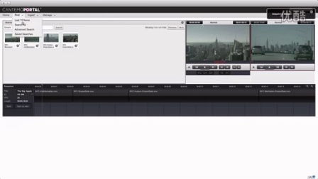 Cantemo Portal™ Final Cut Pro X Library 工作流程